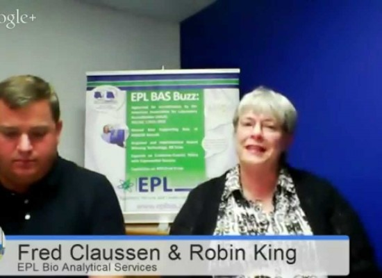 Ag & Food Biotech with EPL Bio Analytical Services' Robin King and Fred Claussen