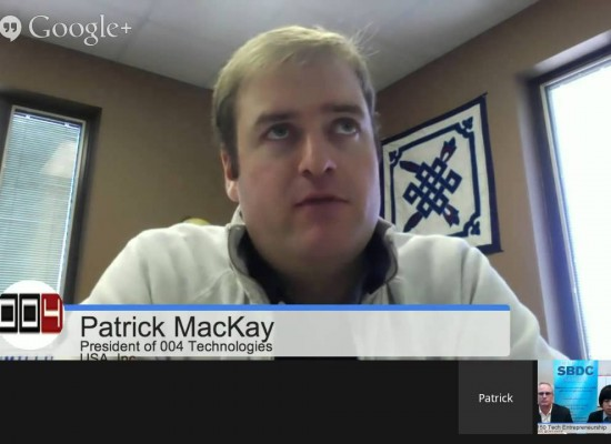 Mobile Technology with Patrick MacKay of 004 Technologies