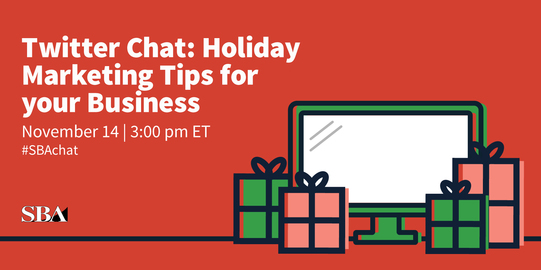 SBA Twitter Chat (#SBAchat): Holiday Marketing